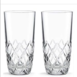 Kate Spade Downing Cuts Highball Set of Glasses